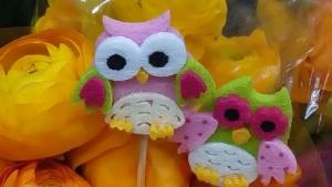 gufetti per bouquet personalizzato