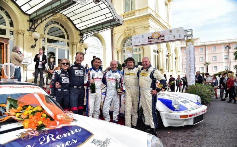 I nostri fiori sul podio del Rally storico